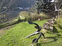 Kotva na pravém břehu Labe v Königsteinu dnes slouží pro okrášlení pohodové atmosféry při romantickém výhledu na pevnost Königstein..