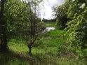 Část Bürgersee, poloslepého levobřežního ramene Labe nad městem Aken.