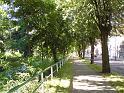 Nábřeží Benešovo ve Dvoře Králové najdeme na pravém břehu Labe.