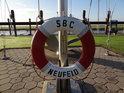 Záchranný kruh v přístavu SBC Neufeld.