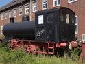 Muzejní parní lokomotiva sloužila dříve v přístavu.