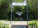 Přístaviště Hohenwarthe na pravém břehu Labe.