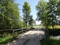 Most přes Opatovický kanál v Přelovicích, tento je již poslední.