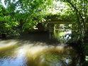 Most u rozcestí Výrov, Opatovický kanál tu již dorazil do Břehů.