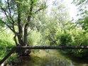 Potrubní most přes Opatovický kanál v Opatovicích n/L.