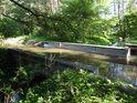 Semínský akvadukt, mimoúrovňové vodní křížení Opatovického kanálu přes Sopřečský potok.